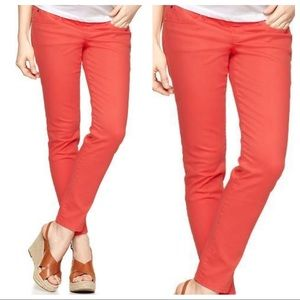 Gap 1969 Coral Stretch Jeggings - 28